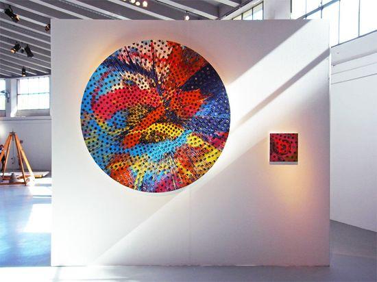 Beautiful Sunflower Panerai Paintings by Damien Hirst