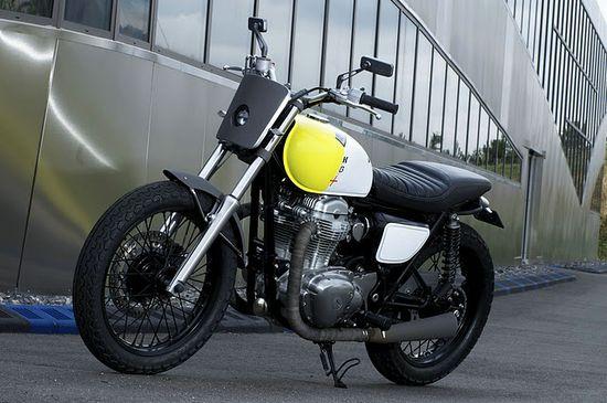 Kawasaki W800 by Philippe Stark x Boxer Design