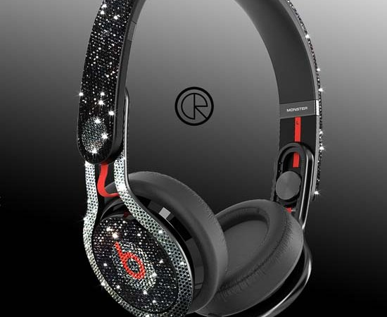 Dr Dre MIXR Adorned With Swarovski Crystals