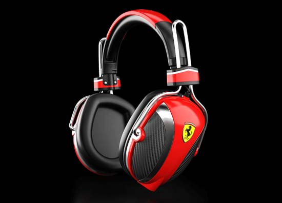 Ferrari Headphones by Logic3