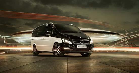 Mercedes-Benz Viano Vision Diamond Luxury Van