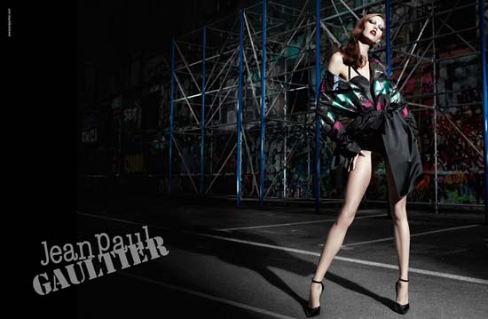 Karlie Kloss for Jean Paul Gaultier Fall 2012 Campaign