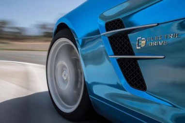 Mercedes SLS AMG Coupe Electric Drive3