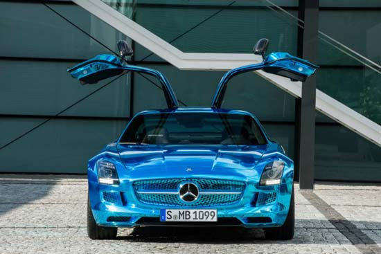 Mercedes SLS AMG Coupe Electric