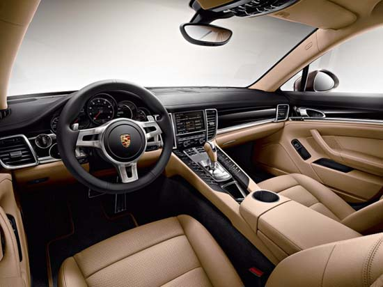 New 2013 Porsche Panamera Platinum Edition