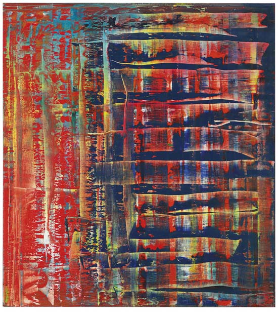 Gerhard Richter, Abstraktes Bild (779-2), 1992