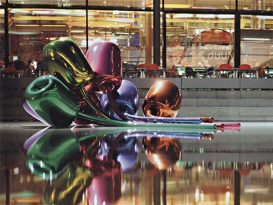 $33.7 million - Jeff Koons, Tulips, 1995–2004