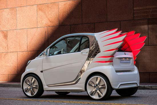 Smart Fortwo Forjeremy Unveiled in Los Angeles
