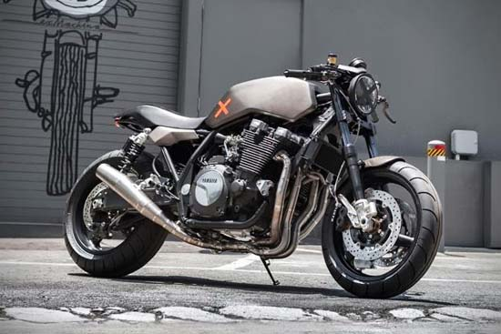 Yamaha XJR1300 Project X by Deus Ex Machina