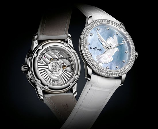 Blancpain honors women and presents a unique watch for Only Watch 2013