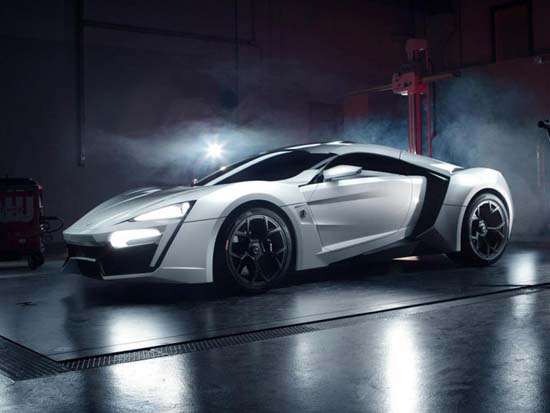 Lykan HyperSport. It has a twin turbo, flat-six Ruf-tuned Porsche engine capable of producing up to 740 horsepower. It can go from zero to 60 miles per hour in less than 2,8 seconds.