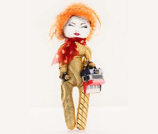 Jean Paul Gaultier doll for UNICEF