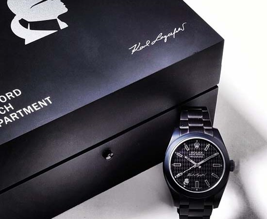 Karl Lagefeld x Bamford Watch Department