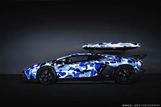 BAPE x Lamborghini