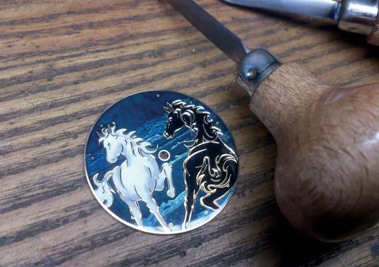 Ulysse-Nardin-Classico-Horse-Dial