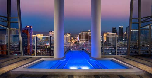 Sky Villa at the Palms Casino in Las Vegas
