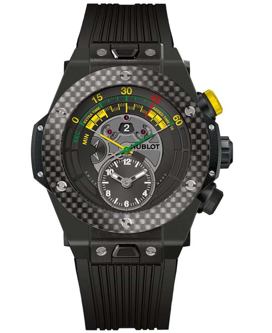 Ref. 412.CQ.1127.RX.– Ceramic Carbon – Limited to 200 numbered pieces
