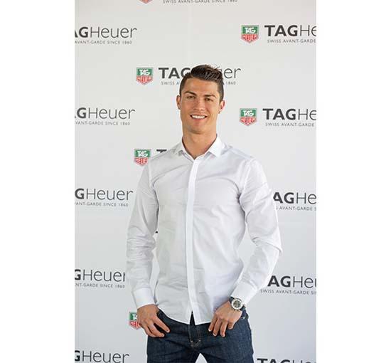 Christiano Ronaldo TAG Heuer
