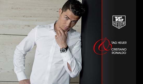 Christiano Ronaldo Is New TAG Heuer Brand Ambassador