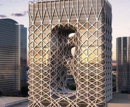 City of Dreams Hotel Tower in Macau by Zaha Hadid Architects