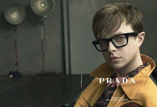 843047178c53 Dane DeHaan for Prada Spring Summer 2014 Eyewear Campaign • Luxuryes