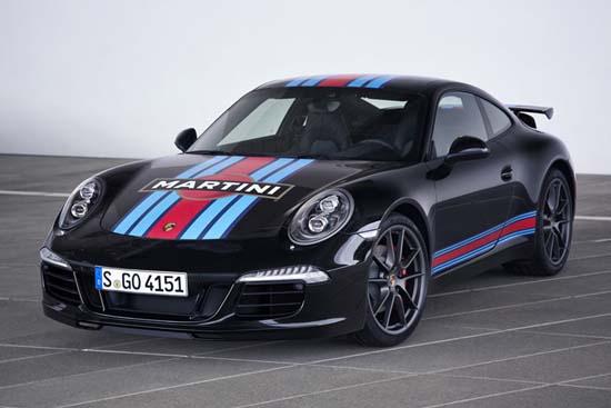 Porsche 911 Carrera S Martini Racing Edition Revealed