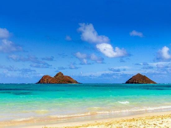 8. Lanikai Beach, Kailua, Hawaii