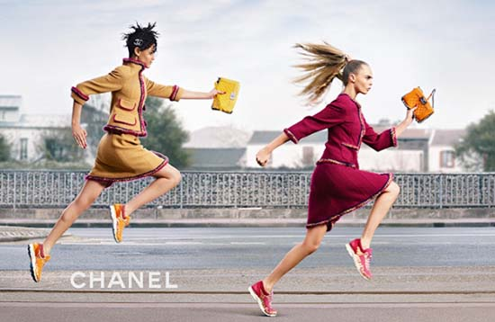 Chanel Goes Boxing for Fall 2014 Campaign