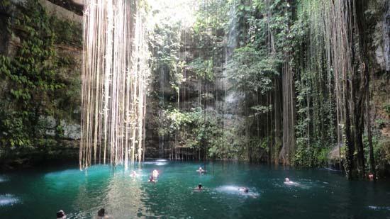 Eco-Arqueological Park Ik Kil - Chichen Itza, Mexico