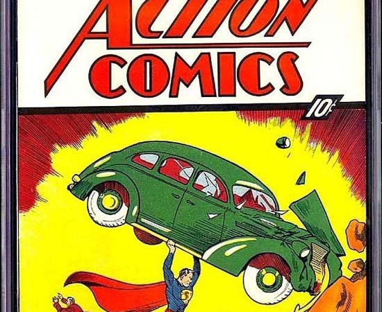 Rare Superman Comic Fetches $3.2 Million at Auction