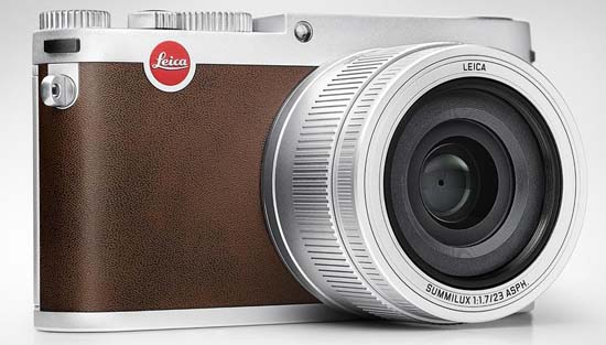 Leica X (Typ 113) Silver Anodized