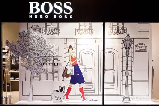 Hugo-Boss-Love-Story-windows-LIGANOVA-Paris