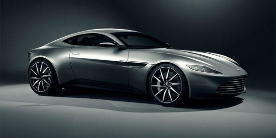 Watch James Bond's Aston Martin DB10 Burning Rubber