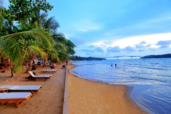 2. Sihanoukville, Cambodia (Average nightly hotel rate: $99)