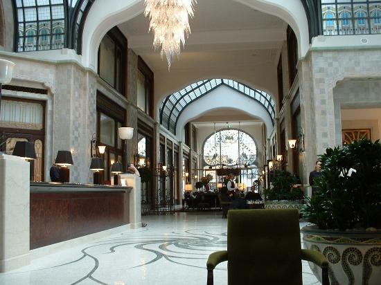 4. Four Seasons Hotel Gresham Palace - Budapest, Hungary