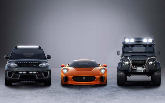 Jaguar x Land Rover Confirmed for 007: Spectre