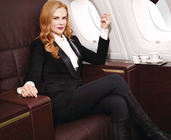 Nicole Kidman Is The New Etihad Brand Ambassador