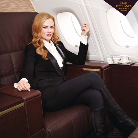 Nicole-Kidman-Etihad-First-Class