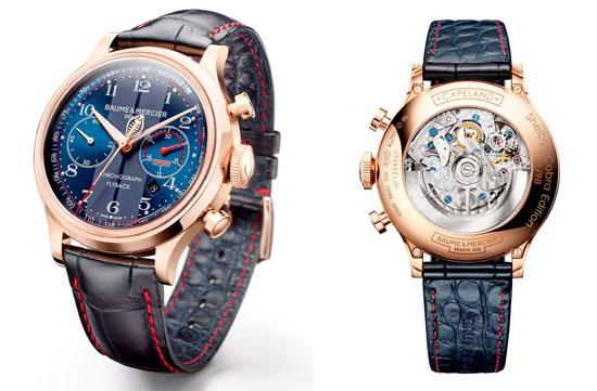 Baume-Mercier-Capeland-Cobra-rose-gold-flyback-chronograph