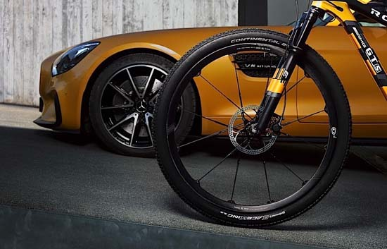 Mercedes x Rotwild Unveil New MTB Inspired by AMG GT