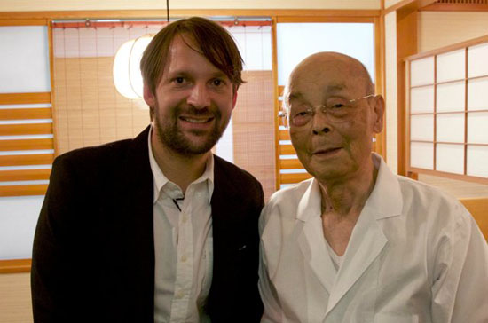 René Redzepi and Jiro Ono