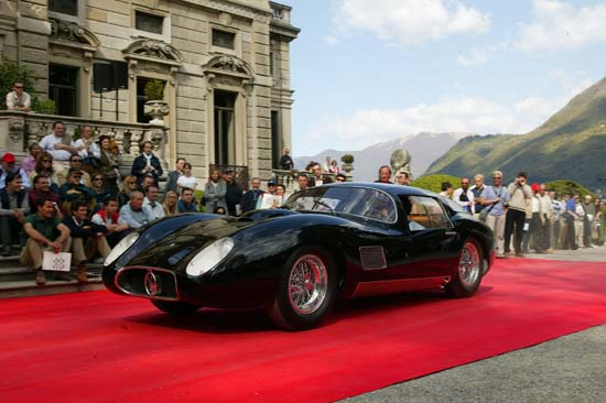 "1957 Maserati 450 S Coupe – known as ""il Mostro"""