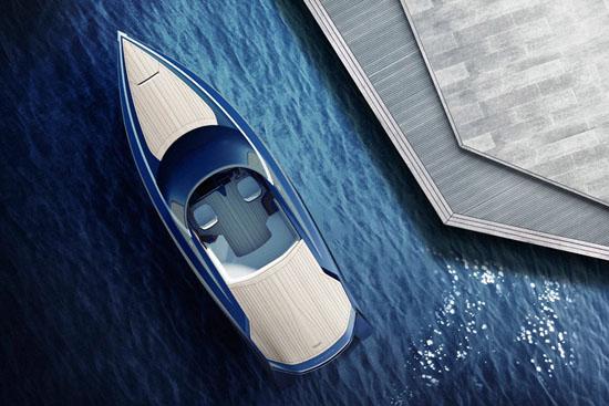 Quintessence Yachts x Aston Martin AM37 Powerboat