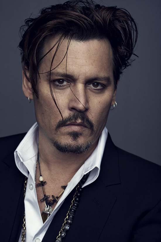 Johnny Depp for Dior Campaign