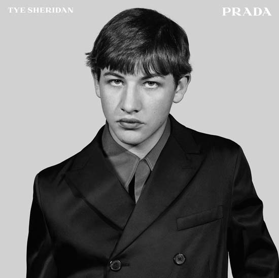 Tye Sheridan for Prada 2015