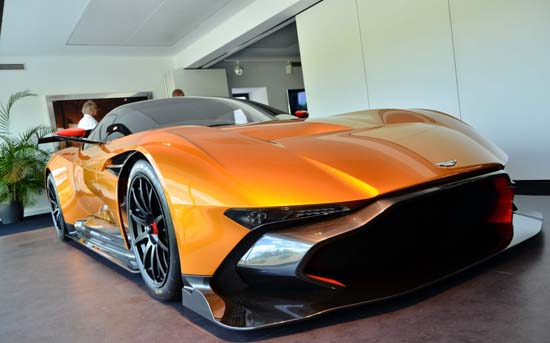 Aston Martin Vulcan Orange Nurburgring