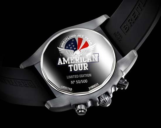 Breitling-Chronomat-44-Blacksteel-Jet-Team-American-Tour-caseback
