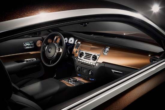 Rolls-Royce Introduces Wraith Inspired by Music