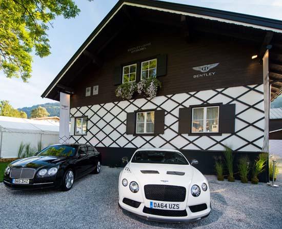 Bentley Mountain Lodge in Kitzbühel, Austria
