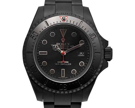 Deepsea Titanium-Coated Watch $24,800